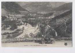 BALSIÈGES Et La Vallée (48 - Lozère) - Automobile Ancienne En 1er Plan - France