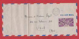 Enveloppe / De Dakar  Sénégal / Pour Lille - Senegal (1887-1944)