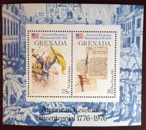 Grenada 1976 American Revolution Minisheet MNH - Grenade (1974-...)