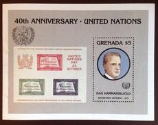 Grenada 1985 40th Anniversary Of UN Minisheet MNH - Grenade (1974-...)