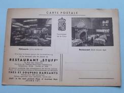 "Restaurant "" STUFF "" Pâtisserie - Rue Des Capucins Luxembourg - Tél 30-06 () Anno 19?? ! - Luxemburgo - Ciudad"