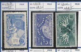 Lot De 3 Timbres Turcs Neufs : N°1213, 1214 Et 1917 (à Confirmer) - 1921-... République