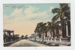 CUBA - HABANA / CALZADA DEL VEDADO (with STAMP) - Cuba