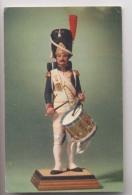 Grenadier à Pied De La Garde Impériale De Napoléon - Tambour - 1er Empire - Figurine De G. Fouillé - Belle Cpa - Guerres - Autres