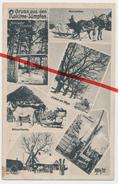 PostCard - Gruß Aus Den Rokitno-Sümpfen - 1917 - Briefstempel Landwehr Regiment Nr. 107 - Bielorussia