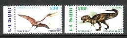 Armenien/Armenie/Armenia 2017,  Fauna Of The Ancient World, Dinosaurs, Pterosaur, Tyrannosaurus  - MNH - Stamps