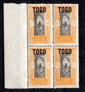 Togo Maury N° 54 En Bloc De 4 Neufs ** MNH. TB. A Saisir! - Unused Stamps