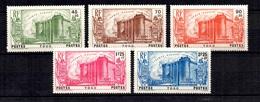 Togo Maury N° 115/119 Neufs ** MNH. TB. A Saisir! - Unused Stamps