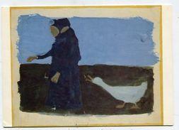 PAINTING - AK 310777 Paula Modersohn-Becker - Bauernfrau Mit Gans - Peintures & Tableaux