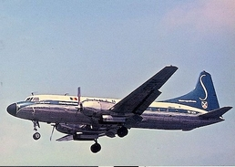 Aviation Postcard-227 SABENA BELGIAN WORLD AIRLINES Convair 440 - 1946-....: Moderne