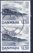 "+D2535. Denmark 2002. Nature. Landscape. Pair ""BEDER"". Michel 1309. Cancelled - Used Stamps"