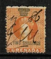 GRENADA  Scott # UNLISTED 2 SHILLING STAMP DUTY USED - Grenada (...-1974)