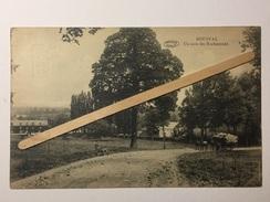 BOUSVAL»Un Coin Du ROCHAMONT « Superbe Panorama ,animée,attelage De Foin ,chêvre(1923)Édit Vve Miesse-Denis (PRÉAUX). - Genappe