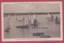56 - LA TRINITE SUR MER--Régates Les Mieux Réussies De La Cote--bateaux--cpsm Pf - La Trinite Sur Mer