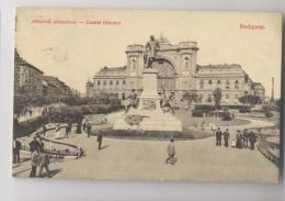 BUDAPEST - 1907 - Központi Pályaudvar - Central Bahnhof  - Animée - Hongrie