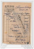 75 3955 PARIS 1950 AU PETIT CREUSOT Fabrique Arrache Bonde Tonnelerie J. AYROLLES 4 Rue Fonds Vert Dest HARMAND - France