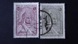 Syria - 1970/71 - Mi:SY 1144,1146 - Yt:SY PA397,399 O - Look Scan - Siria