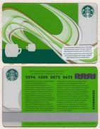 Starbucks - Switzerland - 2012 - CN 0096 4000 0070 - Coffee Aroma - Gift Cards