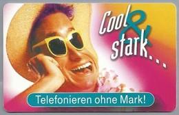 DE.- Telefoonkaart. Telecom TELEFONKARTE. 12 DM. - Cool & Stark... Telefonieren Ohne Mark! - Duitsland