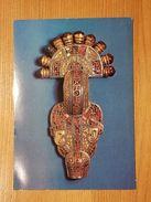 München, Prähistorische Staatssammlung, Bügelfibel 7.Jh N. Chr., Gelaufen 1988 - Museen