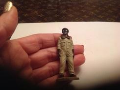 Figurines/militaires/figurine-soldat Starlux Aviateurs En Tenue - Army