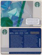 Starbucks - Switzerland - 2013 - CN 0096 4000 0335 - Ice Cubes - Gift Cards