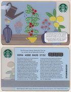 Starbucks - Switzerland - 2014 - CN 0096 4000 0420 - Watering - Gift Cards