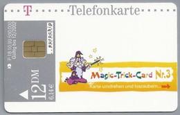 DE.- Telefoonkaart. Telecom TELEFONKARTE. 12 DM. - Magic - Trick - Card. Nr 3. Das Nadelwunder - Duitsland