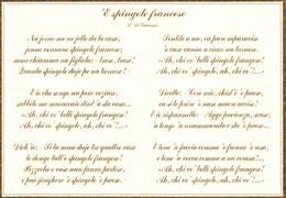 'E SPINGOLE FRANCESE - Altri