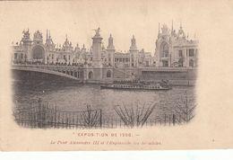 Cp , 75 , PARIS , Exposition Universelle De 1900 , Le Pont Alexandre III Et L'Esplanade Des Invalides - Expositions