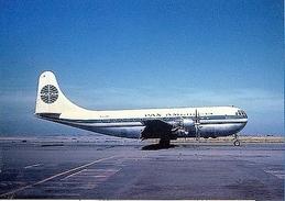 Aviation Postcard-236 PAN AMERICAN Boeing 377 Stratocruiser - 1946-....: Moderne