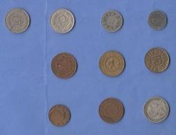 10 Alte Münzen Siehe Scan - Münzen