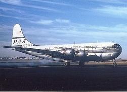 Aviation Postcard-237 PAN AMERICAN Boeing 377 Stratocruiser - 1946-....: Moderne