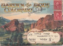 (12 Scan) GARDEN OF THE GONS COLORADO - 20 Ansichten Von Colorado In Mappe (ca.15 X 10 Cm), Komplette Mappe Wurde ... - Non Classés