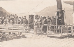 ACHENSEE - Dampferrundfahrt, Seltene Fotokarte 1923 - Achenseeorte