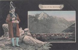 LIENZ Mit Dem Spitzkofel, Sehr Schöne Seltene Karte Gel.1910? - Lienz