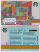 Starbucks - Switzerland - 2015 - CN 0096 4000 0649 - Thank You - Gift Cards
