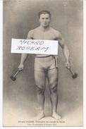Ernest CADINE Champion Du Monde De FORCE Aux J.O. D'ANVERS En 1920  - 1631217 - Jeux Olympiques