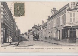 VILLEFRANCHE SUR CHER           ROUTE DE ROMORANTIN - France
