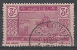 Mauritania, Camel Driver, 3f., 1928, VFU - Usados