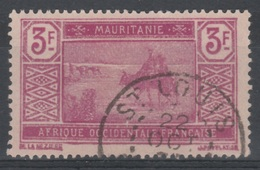 Mauritania, Camel Driver, 3f., 1928, VFU - Mauritania (1906-1944)