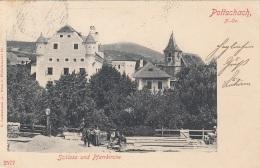 POTTSCHACH (NÖ) - Schloss Und Pfarrkirche Gel. 1901, 3 Fach Frankiert, Gute Erhaltung - Purgstall An Der Erlauf