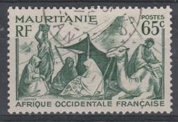 Mauritania, Nomads, 65c., 1938, VFU - Mauritania (1906-1944)