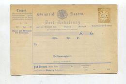 Bayern / 1874 / Postanweisung Mi. A 6 III ** (01678) - Bavaria