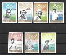 Sharjah Khor Fakkan 1969 Olympic Games Gold Winners Imperforate MNH (T0843A) - Khor Fakkan