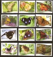 Tonga Niuafo'ou  2012 Yvertn° 321-332  Cote 90,00 Euro  Faune Papillons Vlinders Butterflies - Tonga (1970-...)
