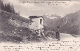 Almidylle - Poststempel Aarau * 9. XII. 1902 - AG Aargau