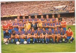 384 - PLANTILLA F.C. BARCELLONA 1984-85 - Calcio