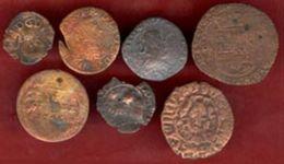 ** LOT  7  MONNAIES ** - Coins & Banknotes