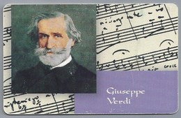 DE.- Telefoonkaart. Telecom TELEFONKARTE. 12 DM. - Giusseppe Verdi. Komponist. - Duitsland